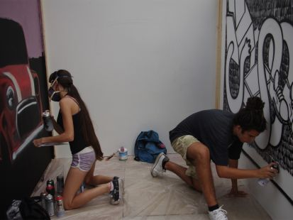 maravillosos grafiteros