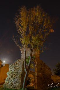 La luna y el arco