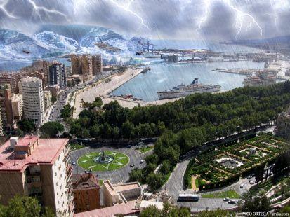 Málaga tsunami day