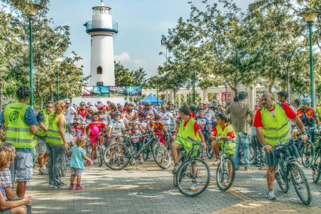 4º día solidario de la bicicleta