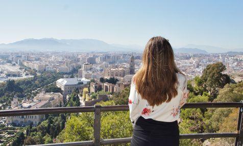 Málaga a la vista