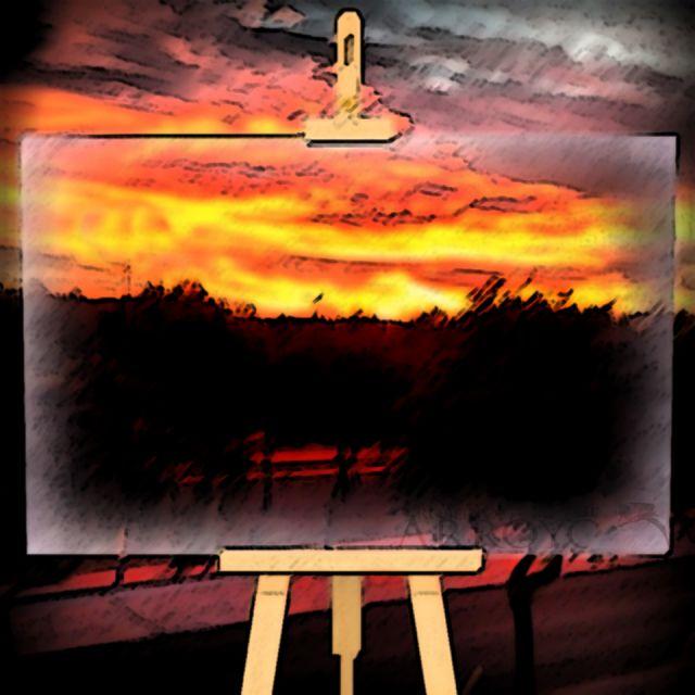 Pintando atardeceres