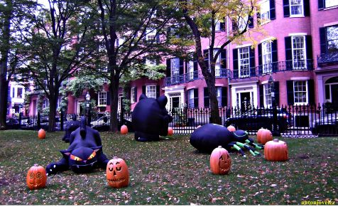 Halloween en Boston