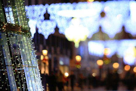 Luces para la Navidad