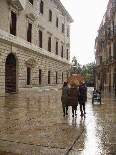 compartir lluvia