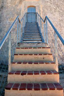 La escalera del torreón