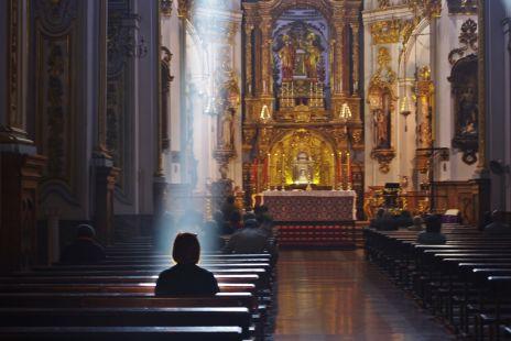 la luz divina
