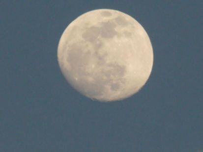 Luna llena en Málaga