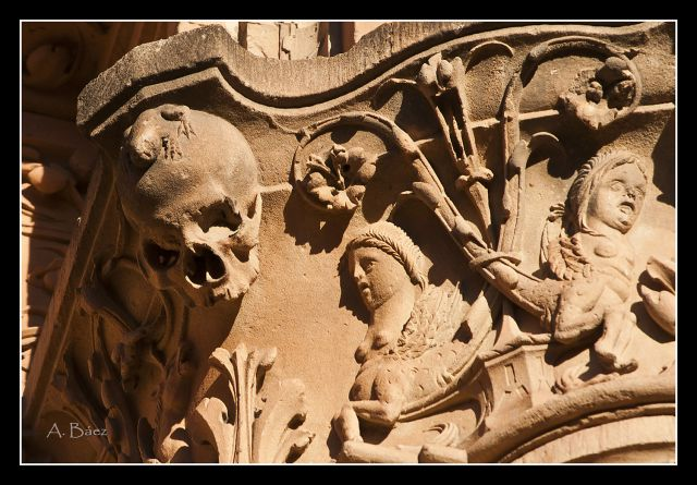 Fachada sede Univ. Salamanca