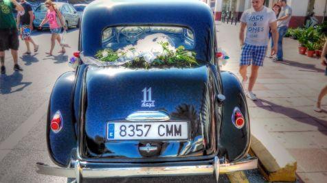 coche adornado