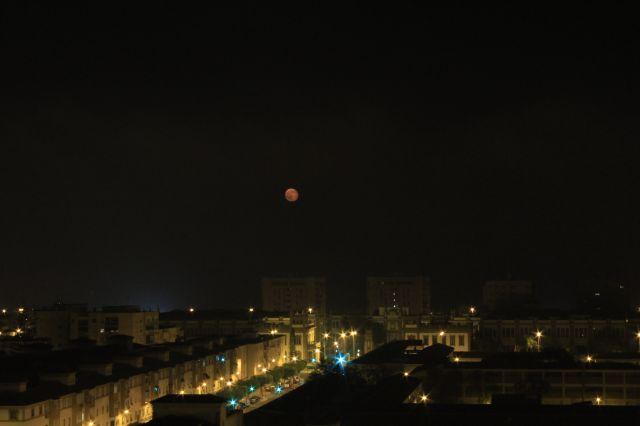 Luna  y niebla.