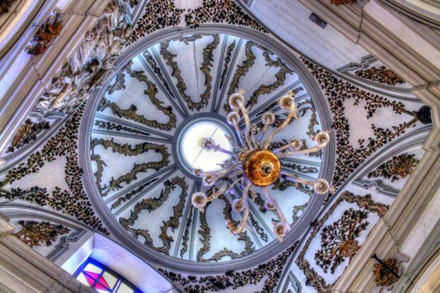 cúpula de la iglesia de santiago