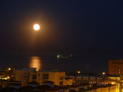 Noche de luna.