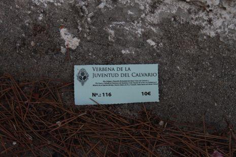 Verbenas en Monte Calvario.