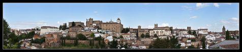 Panorámica de Cáceres