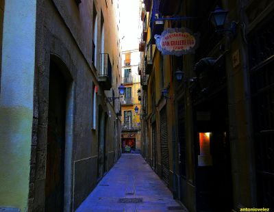 Barrio Gótico-Barcelona