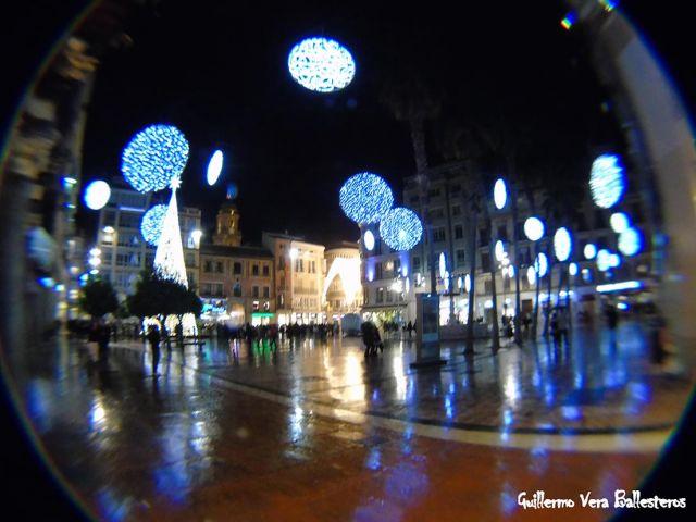 Iluminacion de Navidad de Málaga