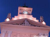 palomas en el Ayuntamiento de Málaga