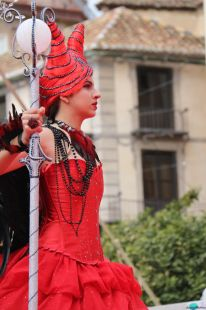 ninfa princesa carnaval malaga 2015