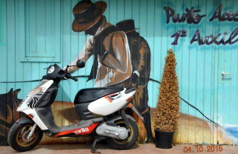 El gaucho a la moto