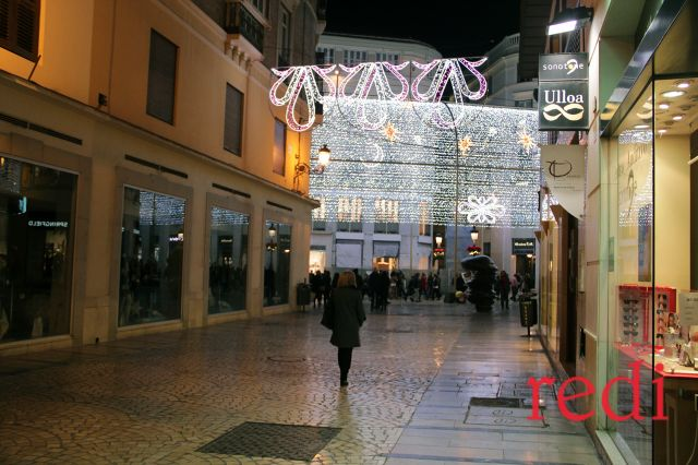 Encendido Navideño en Málaga
