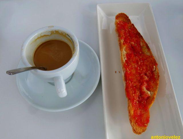 Desayuno en Las Negras