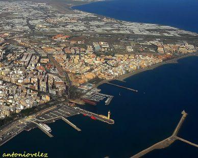 Almería a vista de pájaro