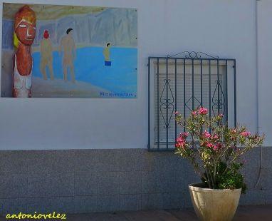 Arte en las calles de Rodalquilar