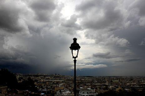 Nubes sobre Paris