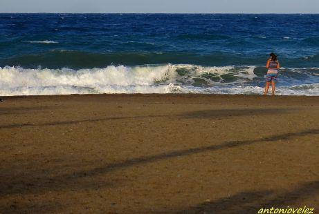 Observando el mar