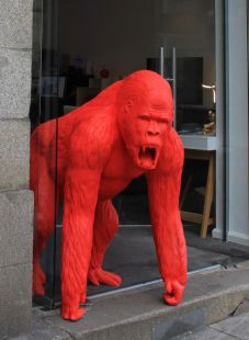 El gorila rojo