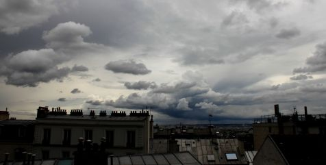 Nubes sobre Paris